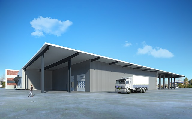 Warehouse exterior