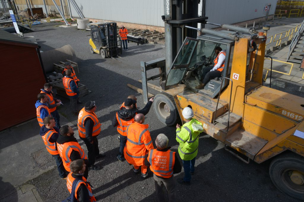Forklift Agency at Stanton Bonna Training Day 49